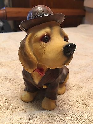 Cute Puppy In Cowboy Outfit Dog