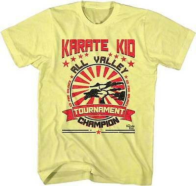 Karate Kid All Valley Tournament Champion Adult T Shirt Great Classic Movie