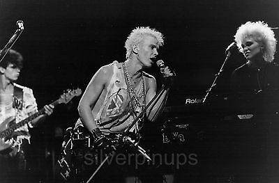 Orig 1980's BILLY IDOL New Wave/Punk Musician.. LIVE IN CONCERT!