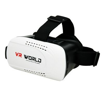 """3D Virtual Reality Brille Video Film für Iphone Android 3,5""""-6"""" VR World Box"""