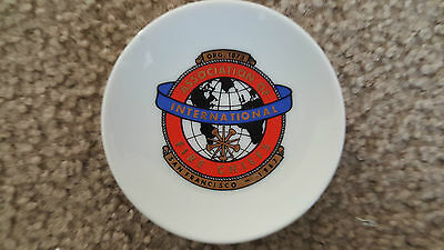 EFCCO Vintage International Association of Fire Chiefs San Francisco 1967 DISH