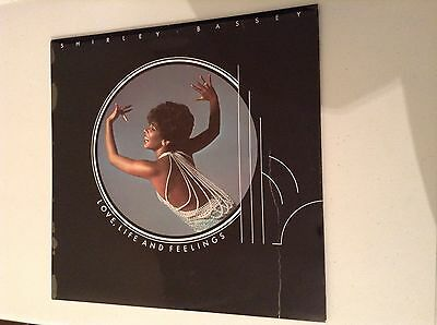 Shirley Bassey Love,Life And Feeling Vinyl Lp