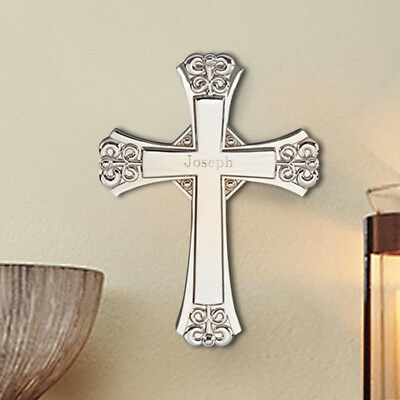 Personalized Cross with Wall Hanging Option Suitable For Engraving