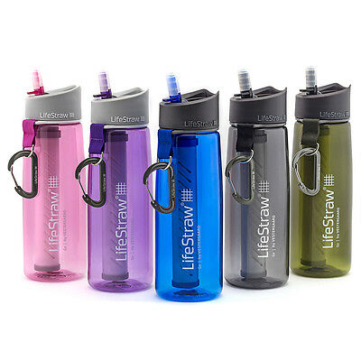 LifeStraw Go Water Bottle with 2-Stage Filtration