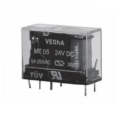 Relay Two exchange 5A 24Vdc