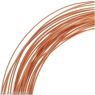 copper wire Enamelled for electronics 0,06mm (1 Metro)