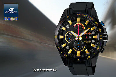 beeb1b6acbfa Casio Edifice Red Bull F1 Limited Mens Watch Reloj Cronografo Efr -540Rbp-1Aer