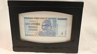 2008 One Hundred Trillion Dollars - Reserve Bank Of Zimbabwe Mint Inflation Note