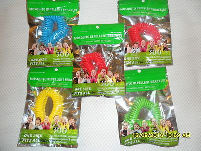 10 Piece Mosquito Insect Repellent Repeller Bug  Wrist Band Camping Outdoor Sp