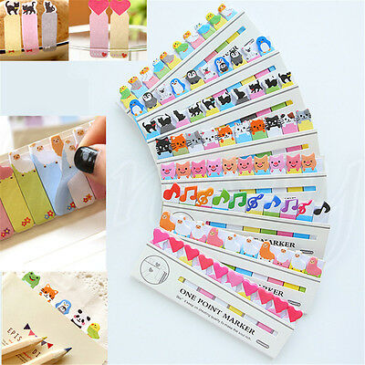 Lovely Animal Sticker Post It Bookmark Mark Tab Memo Sticky Notes 10.5*3.5cm
