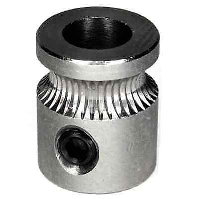 Mk8 Drive Gear For 1.75Mm Extruder Filament Reprap 3D Printer Stainless Steel