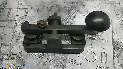 Rare Signalling Equipment GPO FHB-53 Type F-17 Telegraph Key