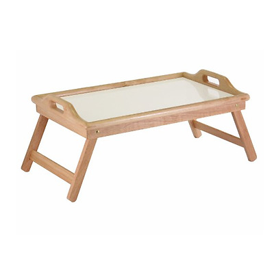 Personal Folding Table Tv Dinner Tray Food For Bed Eating