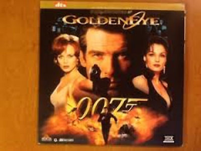 Goldeneye DTS THX As New Laserdisc