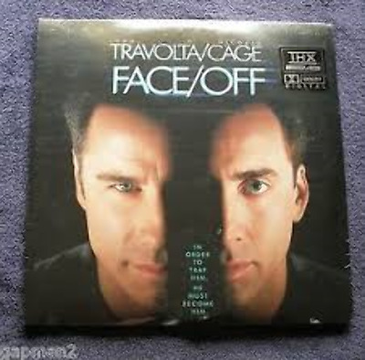 Face Off THX Dolby Digital WS As New Laserdisc