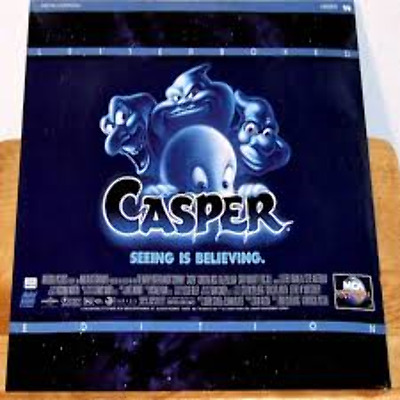 Casper THX DTS Letterboxed As New Laserdisc