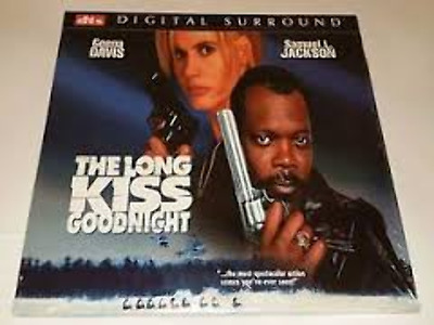The Long Kiss Goodnight DTS As New Laserdisc