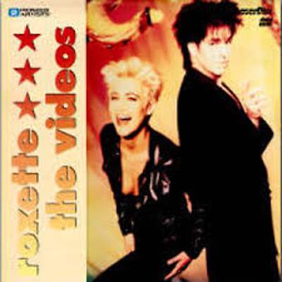 Roxette The Videos Laserdisc