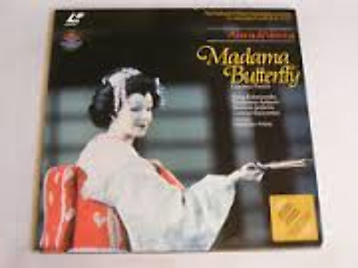 Madama Butterfly Pucini As New Laserdisc