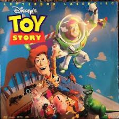 Toy Story THS Letterboxed As New Laserdisc