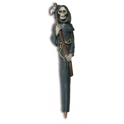 Gothic Pen Mower Reaper Resin Stylo Gothique Faucheuse Résine Dark Death Dead