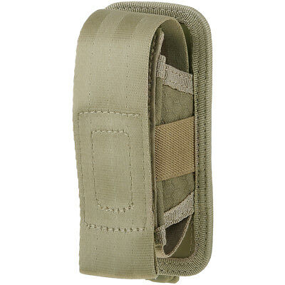 Maxpedition AGR Tactical Single Sheath Pouch Hex Ripstop Nylon Army Pocket Tan