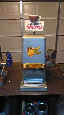 Vintage soda fountain hot chocolate maker