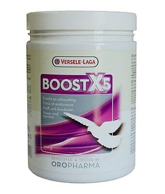 Boost X5 by Versele-Laga 500gr for Racing Pigeons