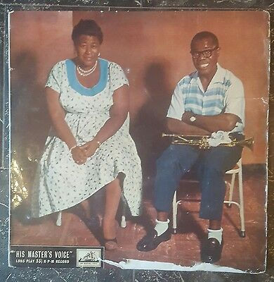 ELLA FITZGERALD &  LOUIS ARMSTRONG- ELLA AND LOUIS - UK 1st LP HMV CLP 1098