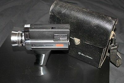 Vintage Bell & Howell Autoload 675/XL Super 8 Trigger Movie Camera w Case!
