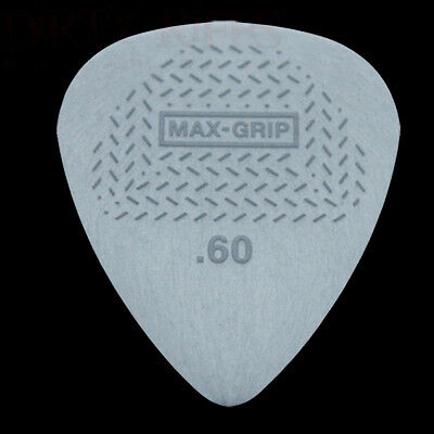 Dunlop Max Grip Standard Guitar Picks 0.60mm - 1 2 3 4 5 6 10 12 20 24 or 36