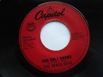 The Beach Boys - God only knows/ B.Boys Medley - RARE PHILIPPINES 45 // AS NEW
