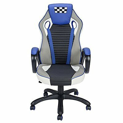 Racing Gaming Computer Desk Chair Coavas Office High Back PU Leather Computer Ta