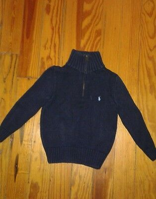 Polo by Ralph Lauren Toddler Boys Sweater Pullover Size 4T Navy