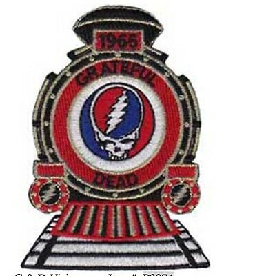 "Grateful Dead 1965 SYF Iron On Patch 3 1/4"" x 2 1/2"" Free Ship Licensed P3974"