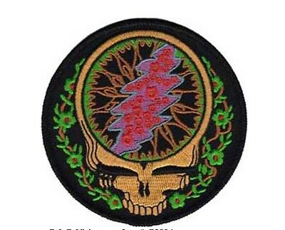 """Grateful Dead Syf with Vines Iron On Patch 3 1/2"""" Licensed C&D Free Ship P-3804"""