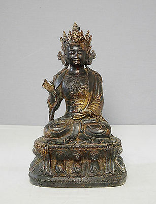Chinese  Antique  Bronze  Statue  of  Buddha      M2058