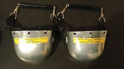 Ellwood Safety Carbon Steel Toe Guard Over Shoe 702 Pair Sankey 4-1/2