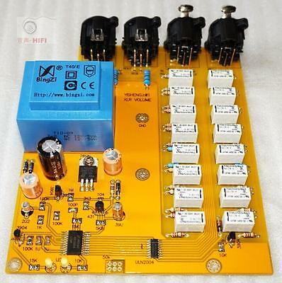 Advanced relay volume control board / balanced potentiometer / balance front lev