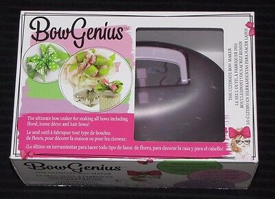 OFFRAY 'BOW GENIUS' Make your own bows - Craft, Hair Accessories, Wedding NEW