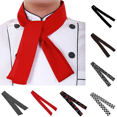Practical Unisex Catering Chefs Scarf Ties Professional Catering Clubber Uniform