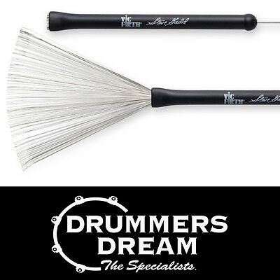 Vic Firth Steve Gadd Signature Wire Brushes SGWB Triple-Crimped & Retractable