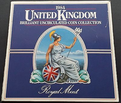 1984 UK / Great Britain Royal Mint Brillian 8 Coin Set