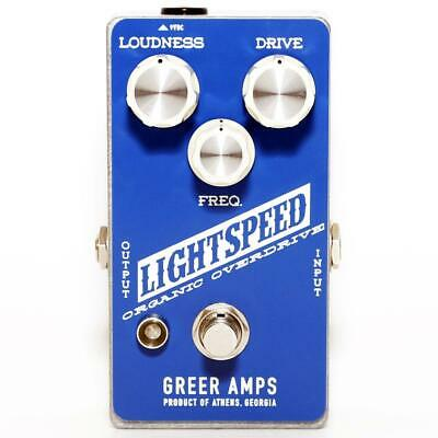 NEW! Greer Amps Lightspeed Organic Natural Overdrive