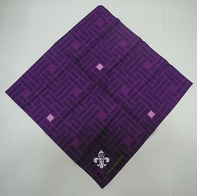 SCOUTS OF KOREA (SOUTH KOREAN) - SCOUT Official Neckerchief (N/C) / Scarf (PINK)