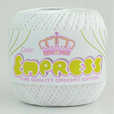 Empress Mercerised Crochet Cotton/Yarn No.10