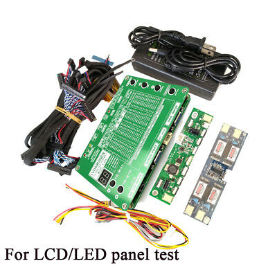"Laptop TV Computer Repair Tool LCD LED Panel Tester Support 7 -84"" LVDS Screen"