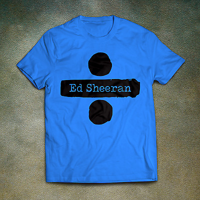 Ed Sheeran T-Shirt - Divide Logo Album CD New Sticker