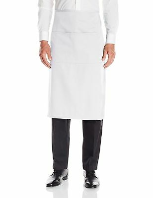 Dickies Chef Adult Unisex New 29 Inches Imported Waist Half Bistro Aprons. DC58