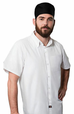 Dickies Chef Men's New Short Sleeve Snap Front Closure Patch Pocket Shirt. DC60
